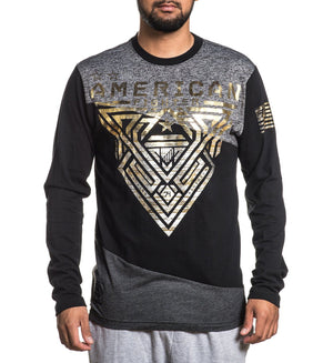 Mayville - Mens Long Sleeve Tees - American Fighter