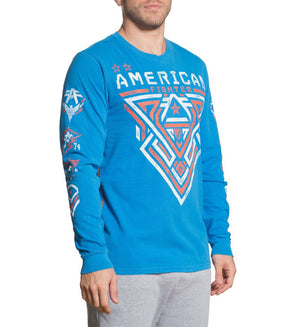 Mayville Artisan - Mens Long Sleeve Tees - American Fighter