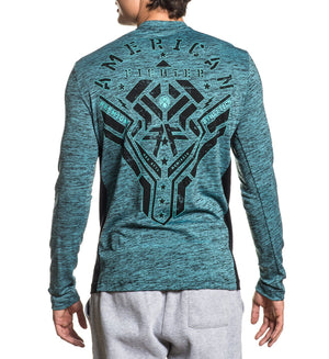 Moxley - Mens Long Sleeve Tees - American Fighter