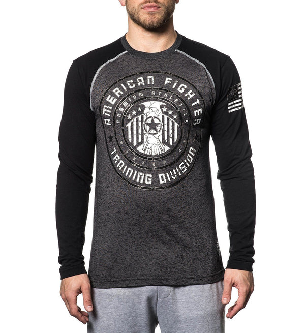 Peninsula - Mens Long Sleeve Tees - American Fighter