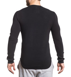 Refined Pullover - Mens Long Sleeve Tees - American Fighter