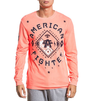 Richmond - Mens Long Sleeve Tees - American Fighter