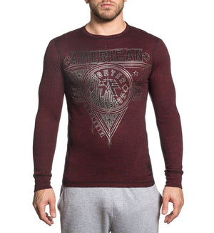 Siena Heights - Mens Long Sleeve Tees - American Fighter