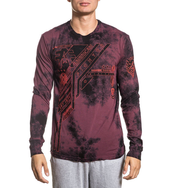 Uniondale - Mens Long Sleeve Tees - American Fighter