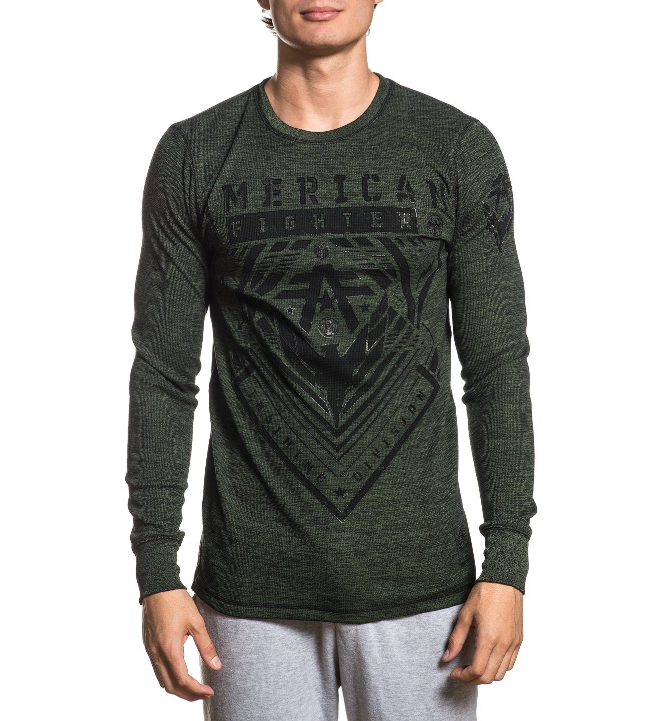 Wardell - Mens Long Sleeve Tees - American Fighter