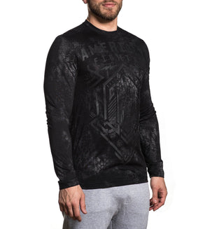 Warsaw - Mens Long Sleeve Tees - American Fighter