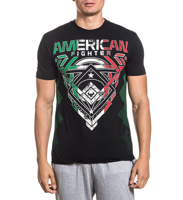 Advantage - Mens Short Sleeve Tees - American Fighter