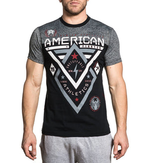 Alaska Pattern - Mens Short Sleeve Tees - American Fighter