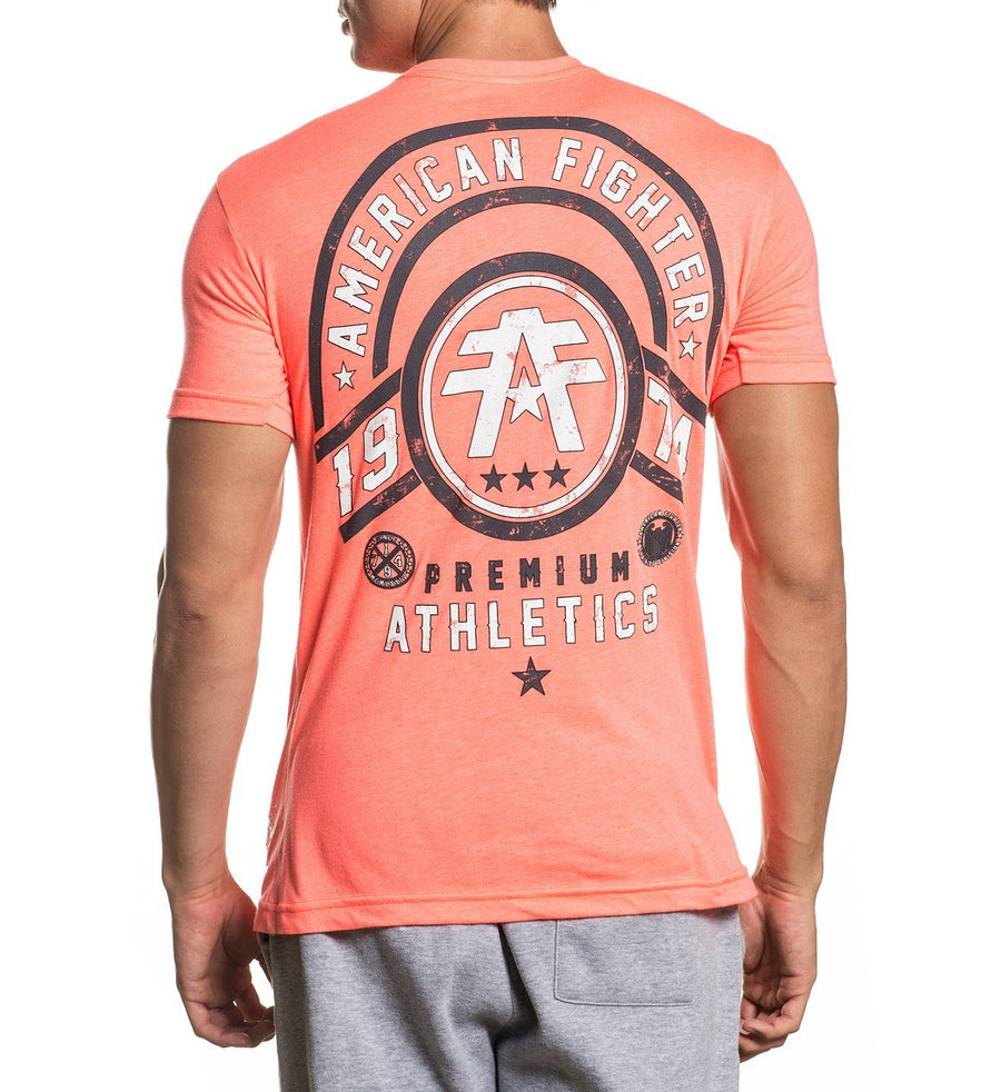 Allport - Mens Short Sleeve Tees - American Fighter