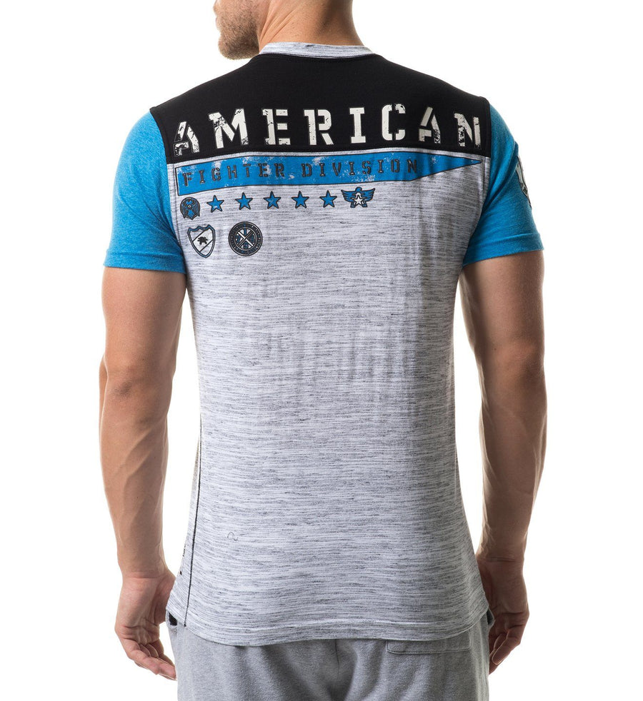 Bradbury - Mens Short Sleeve Tees - American Fighter