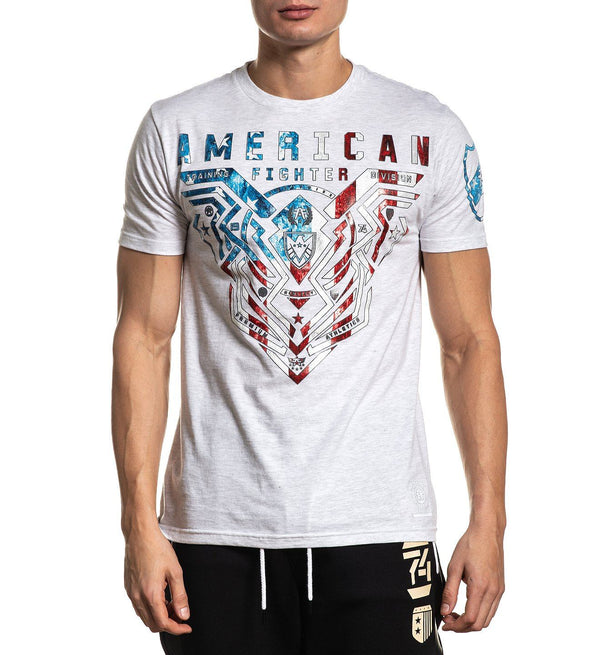Brimley Patriot - Mens Short Sleeve Tees - American Fighter