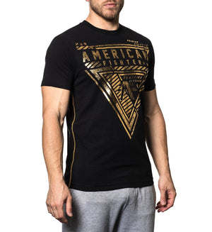 Carmichael - Mens Short Sleeve Tees - American Fighter