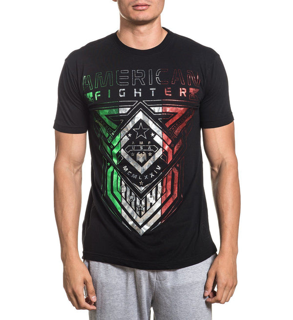 Cisco - Mens Short Sleeve Tees - American Fighter