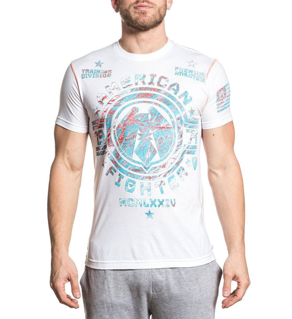 Clarion - Mens Short Sleeve Tees - American Fighter