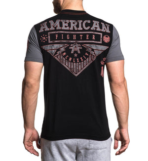 Clarkson - Mens Short Sleeve Tees - American Fighter