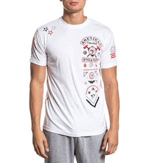 Courage - Mens Short Sleeve Tees - American Fighter