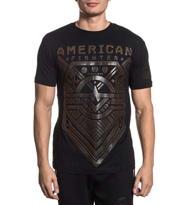 Crestview - Mens Short Sleeve Tees - American Fighter