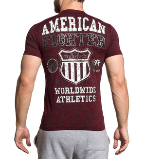 Davenport - Mens Short Sleeve Tees - American Fighter