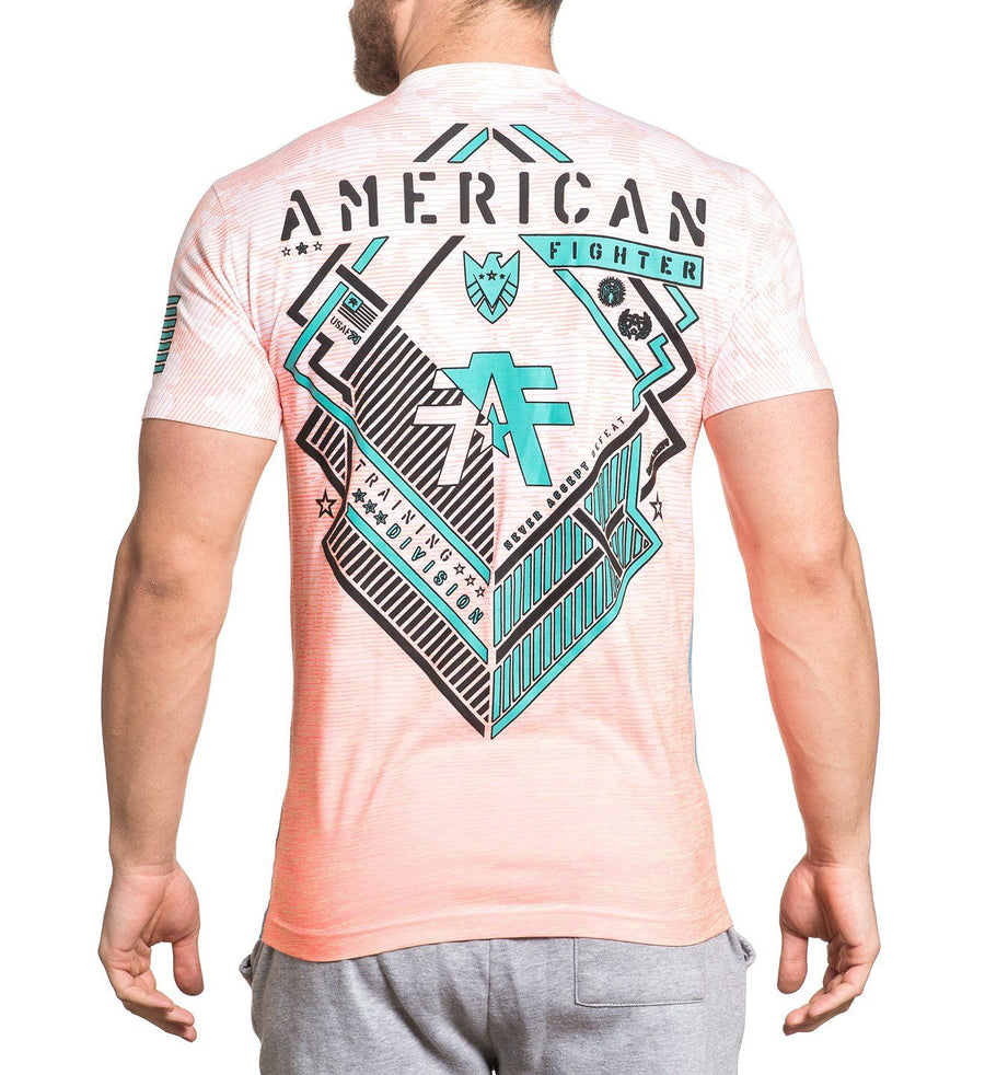 Euclid - Mens Short Sleeve Tees - American Fighter
