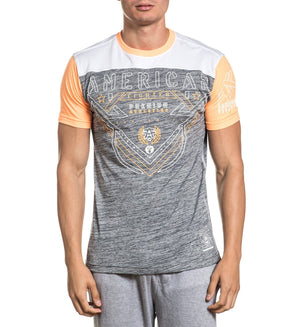 Faulkner - Mens Short Sleeve Tees - American Fighter