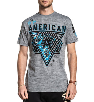 Goodwell - Mens Short Sleeve Tees - American Fighter