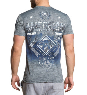 Lander - Mens Short Sleeve Tees - American Fighter