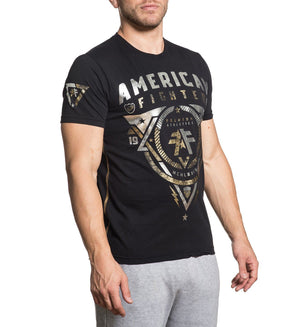 Marland - Mens Short Sleeve Tees - American Fighter