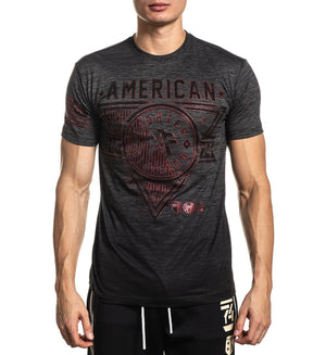 Siena Heights - Mens Short Sleeve Tees - American Fighter
