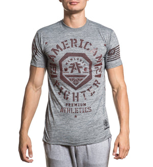 Weathers - Mens Short Sleeve Tees - American Fighter