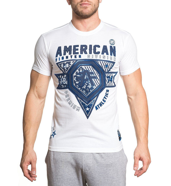 Wingate - Mens Short Sleeve Tees - American Fighter