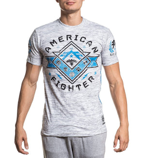 Worthington - Mens Short Sleeve Tees - American Fighter