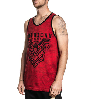 Brimley - Mens Tank Tops - American Fighter