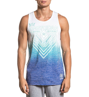 Crystal River Tmt - Mens Tank Tops - American Fighter