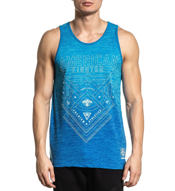 Dustin Nt - Mens Tank Tops - American Fighter