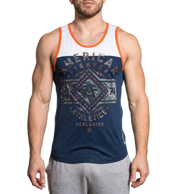 Santa Clara Marble - Mens Tank Tops - American Fighter