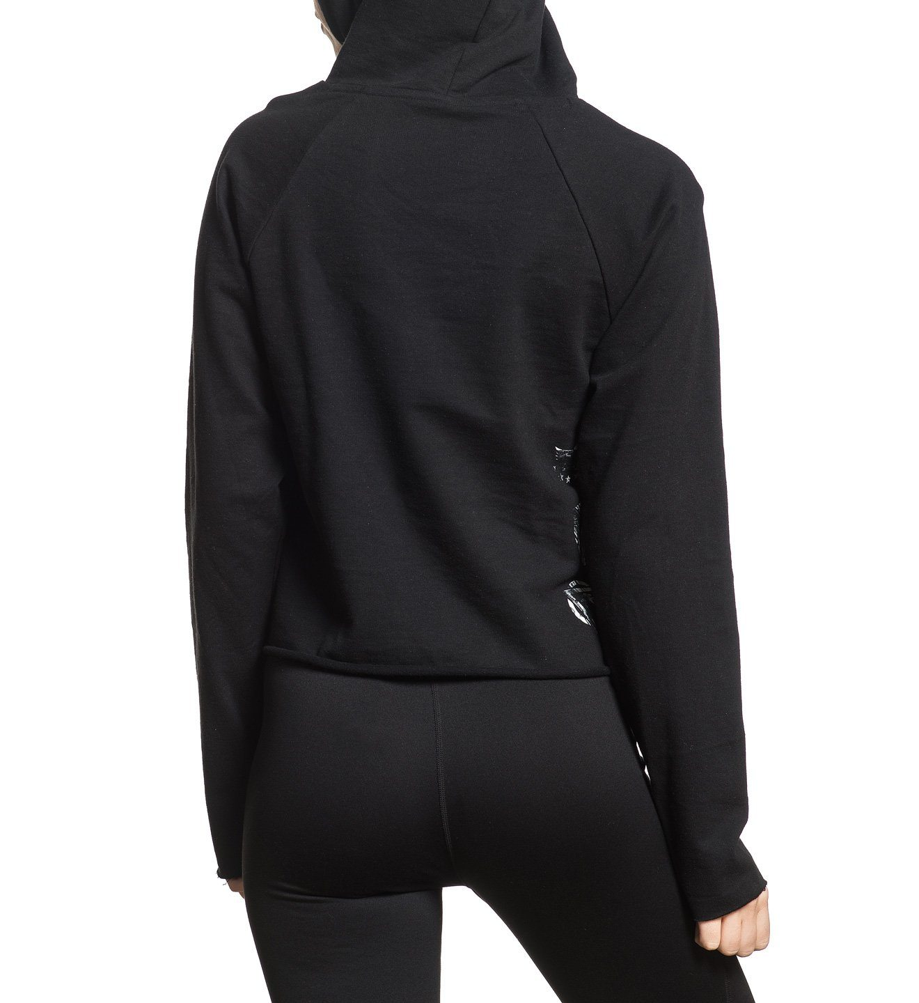 Allegiance 3/4 P/O Hood - Womens Hooded Sweatshirts - American Fighter