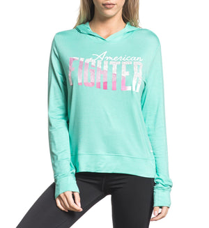 Delray - Womens Hooded Sweatshirts - American Fighter