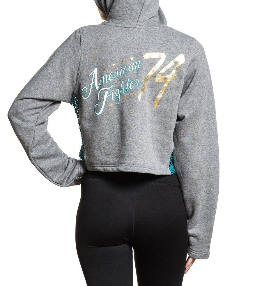 Stockdale - Womens Hooded Sweatshirts - American Fighter