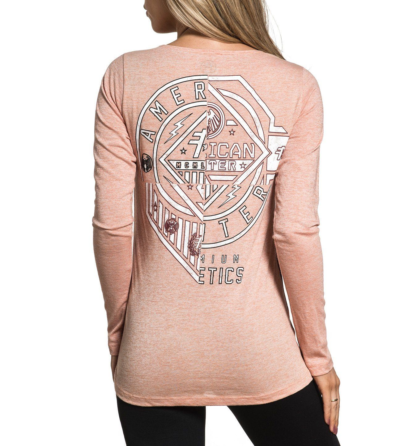 Centerville - Womens Long Sleeve Tees - American Fighter