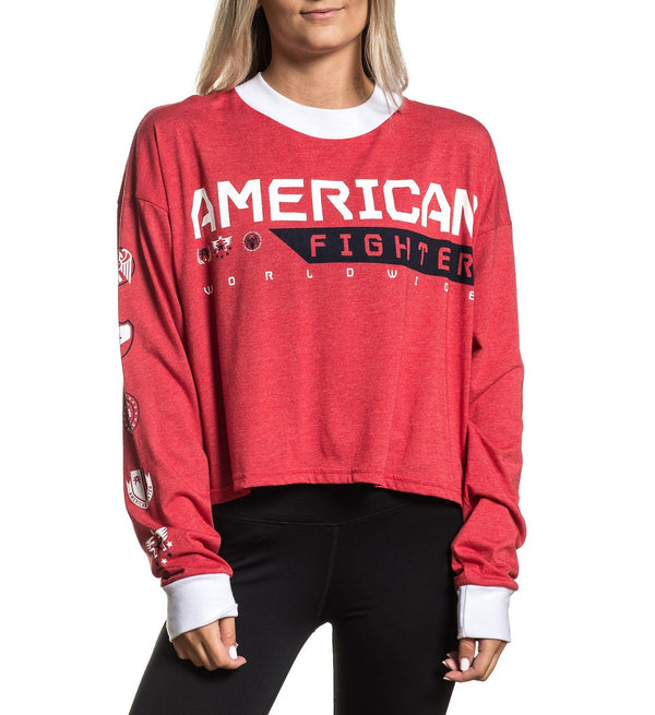 Coatesville - Womens Long Sleeve Tees - American Fighter