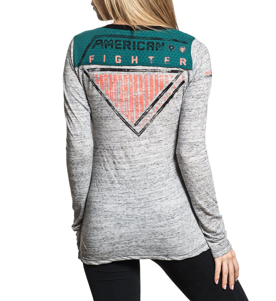 Eagleport - Womens Long Sleeve Tees - American Fighter