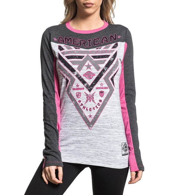 Lakehurst - Womens Long Sleeve Tees - American Fighter