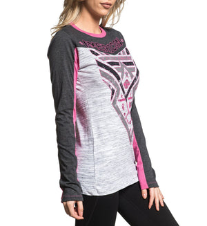 Womens Long Sleeve Tees - Lakehurst