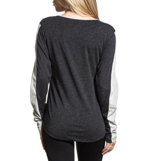 Langley - Womens Long Sleeve Tees - American Fighter