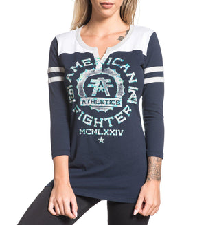 Maryland - Womens Long Sleeve Tees - American Fighter