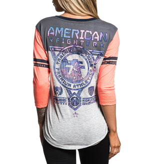 Massachusetts - Womens Long Sleeve Tees - American Fighter