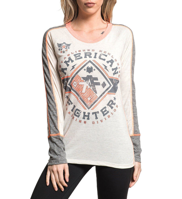 Ventura - Womens Long Sleeve Tees - American Fighter