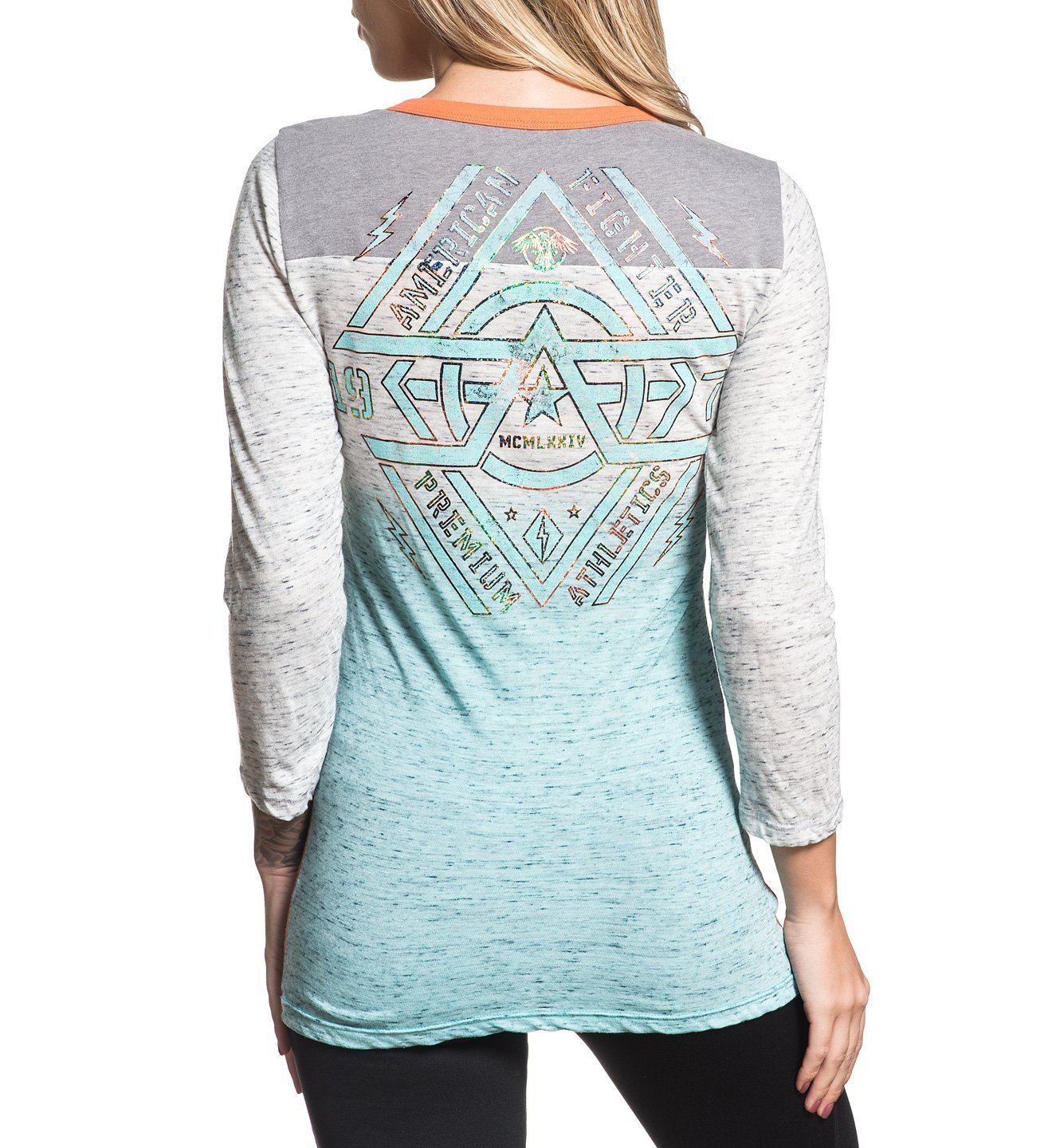 Westend - Womens Long Sleeve Tees - American Fighter