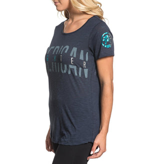 Womens Short Sleeve Tees - Blue Lake