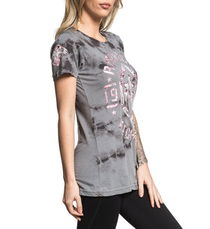 Womens Short Sleeve Tees - Calvin